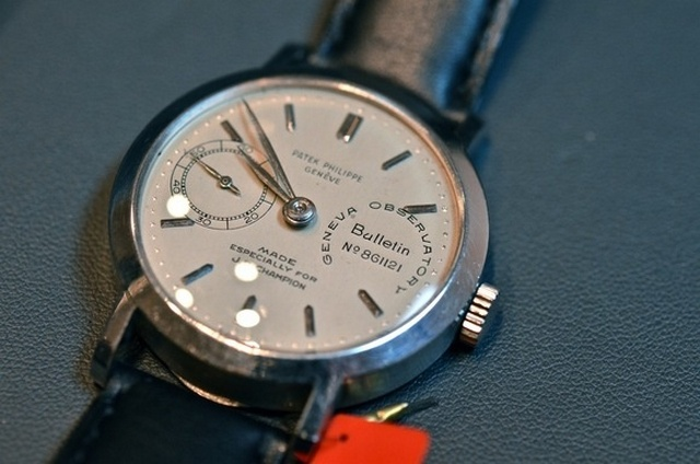 JB Champion's Platinum Observatory Chronometer