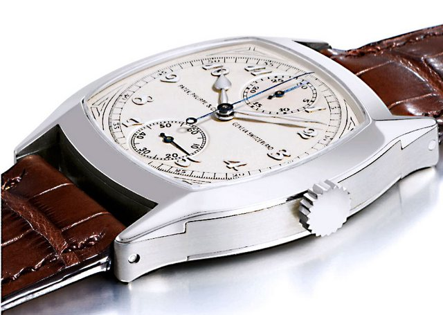 Patek Philippe Single-Button Chronograph Watch