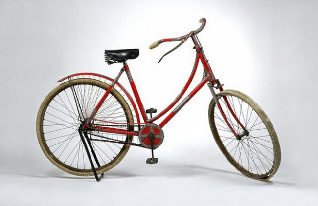 Tiffany&Co.Silver Mounde tLady'sBicycle