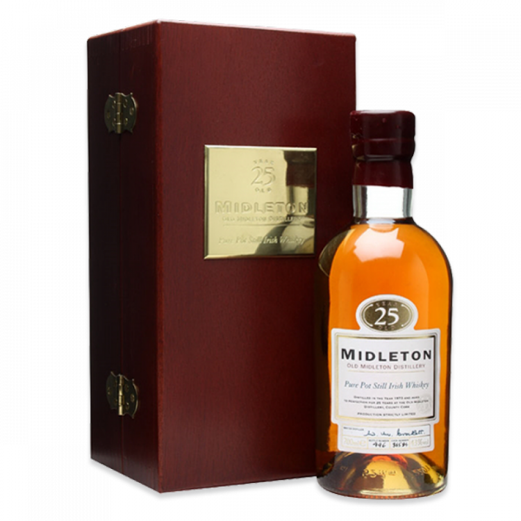 """25 Year Old Pure Pot Still Whiskey"""