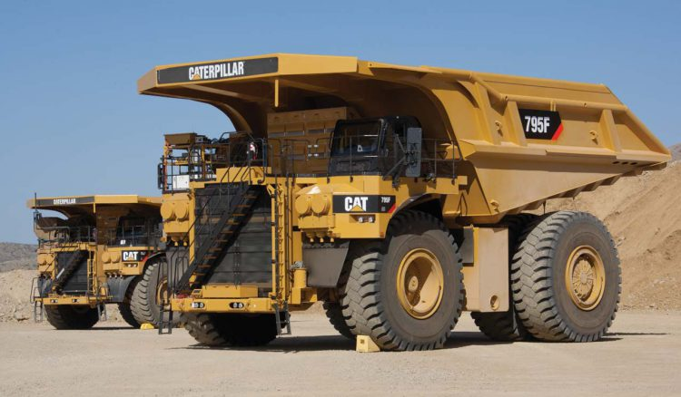 Самосвал Caterpillar 795F AC