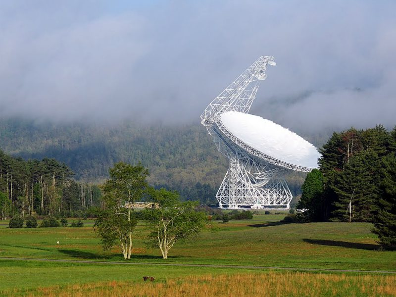 Green Bank Telescope, США