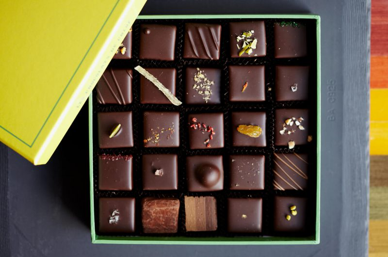 Le Chocolate Box конфеты