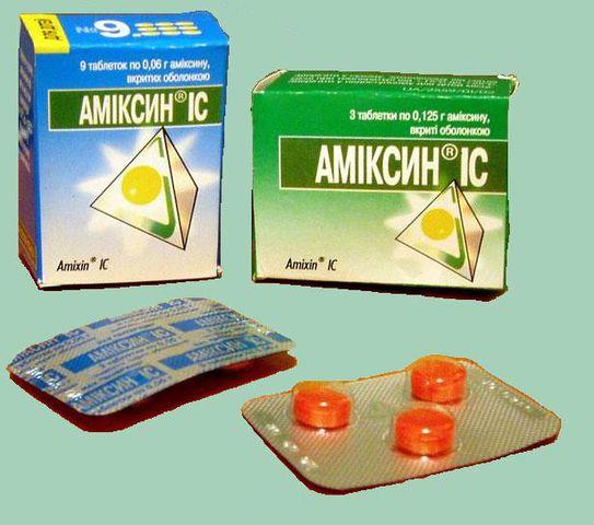 Амиксин – достаточно одной таблетки