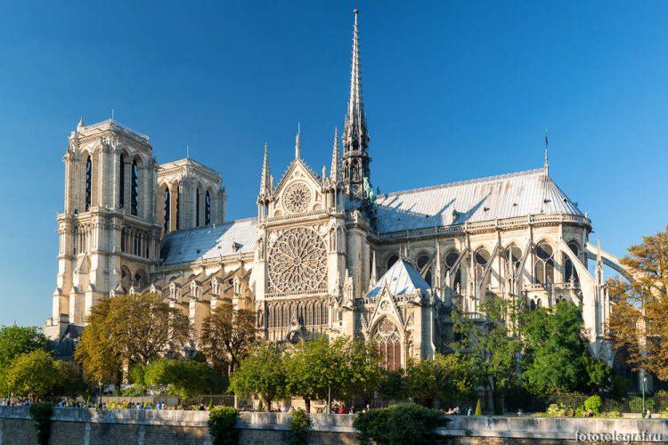 Парижский Собор Нотр-Дам