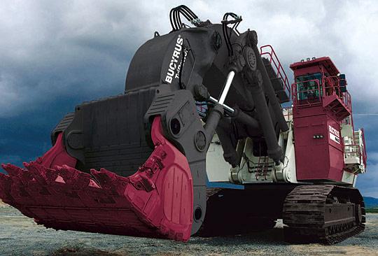 Bucyrus RH400