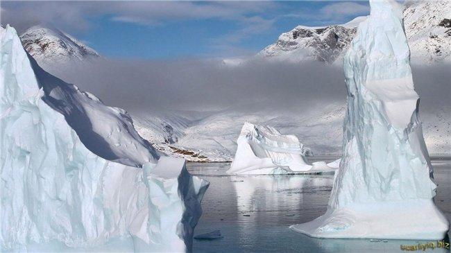 Откуда появляются айсберги