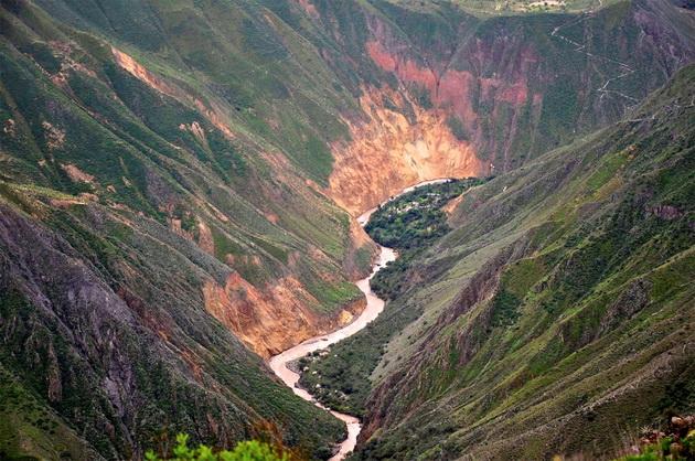 Каньон реки Колка