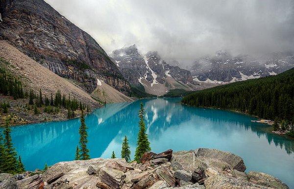 Озеро ледниковое
