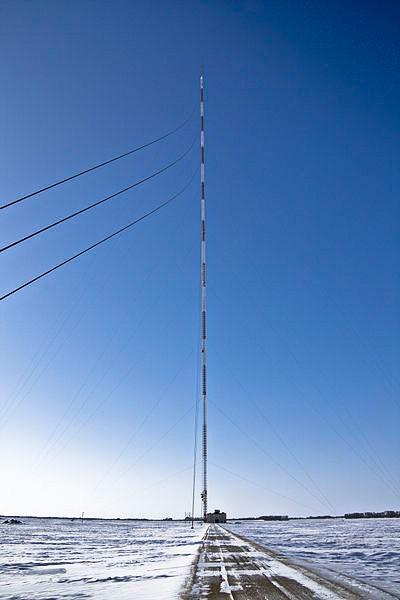 Телебашня KVLY-TV