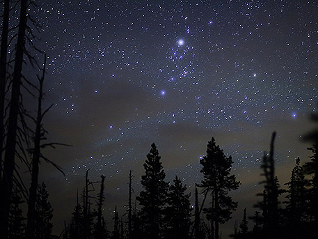 Меркурий на небе