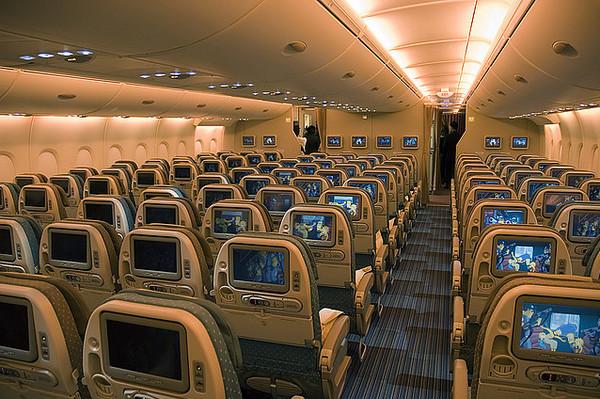 Салон Airbus 380