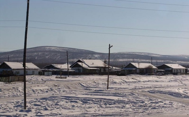 Верхоянск зимой