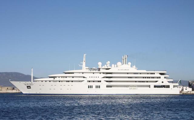 Яхта Al-Salamah