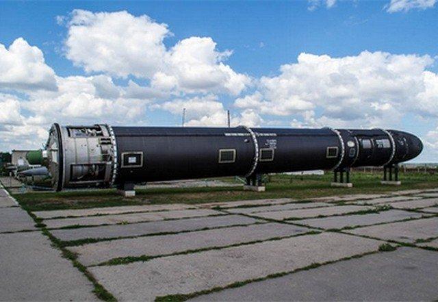 Межконтинентальная баллистическая ракета Воевода