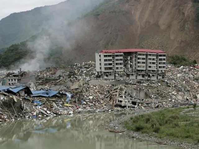 Землетрясение в Китае, 2008