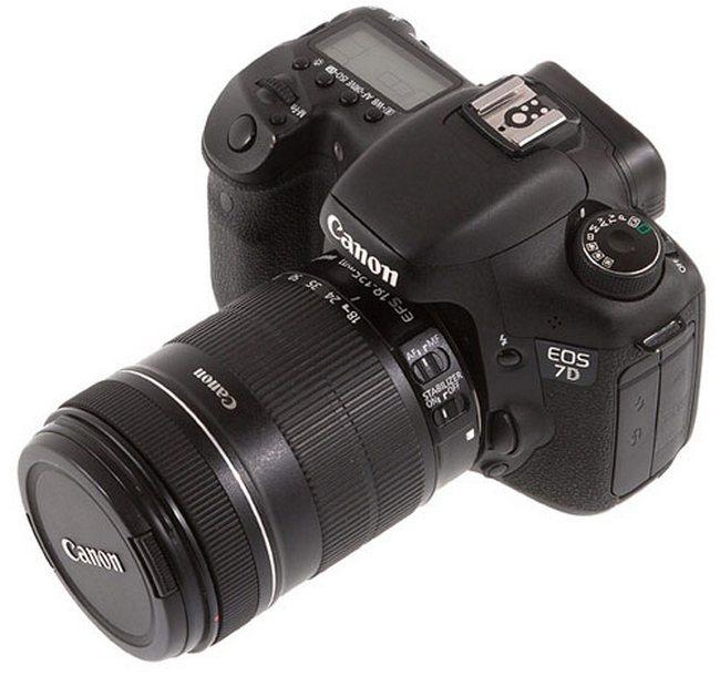 Зеркальный фотоаппарат Canon EOS 7D