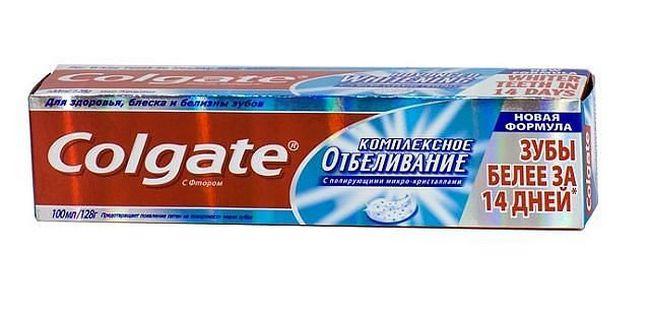 Зубная паста Colgate – Комплексное отбеливание