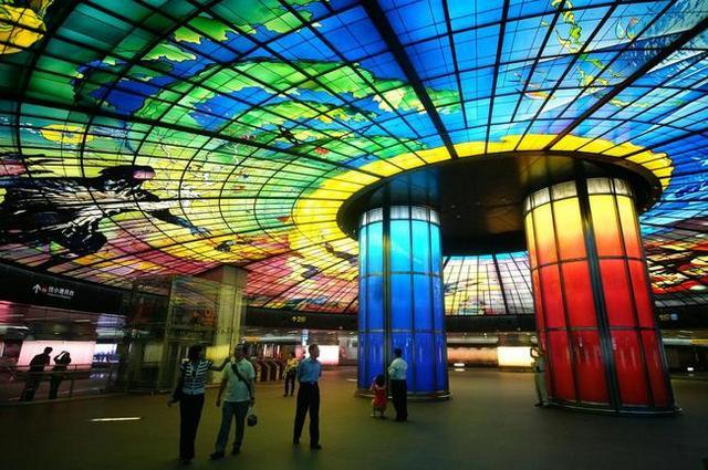Станция Formosa Boulevard в Гаосюне