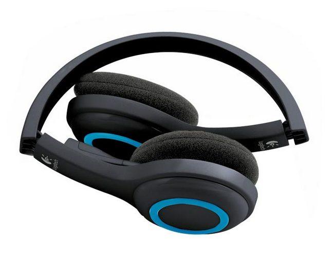 Беспроводные наушники Logitech Wirelless Headset H600