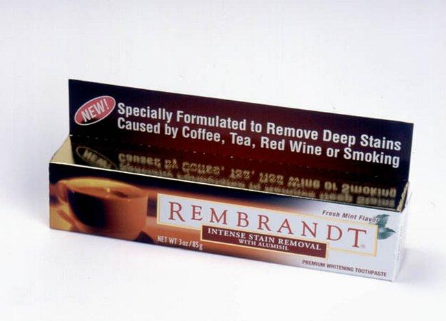 Зубная паста Remrandt – Антитабак и кофе