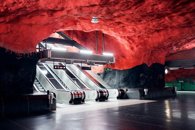 Станция Solna centrum в Стокгольме