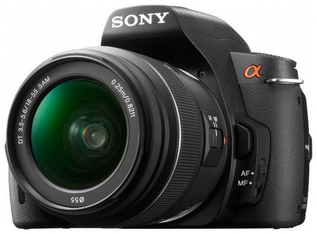 Зеркальный фотоаппарат Sony Alpha DSLR-A390 Kit