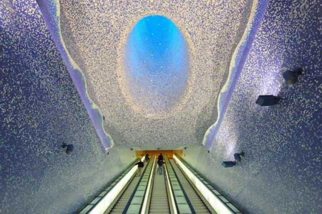 Станция Toledo в Неаполе