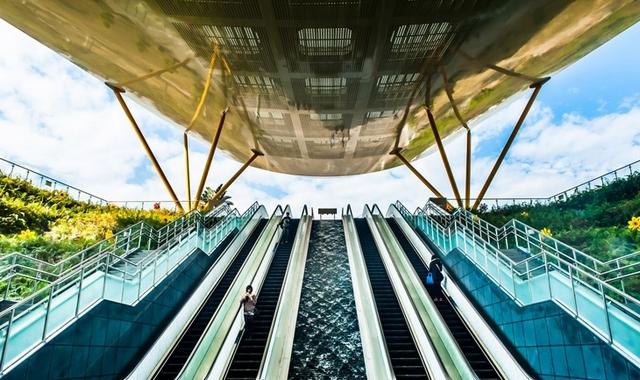 Станция Центральный парк в Гаосюне