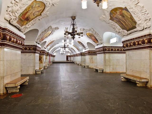 Станция Киевская в Москве