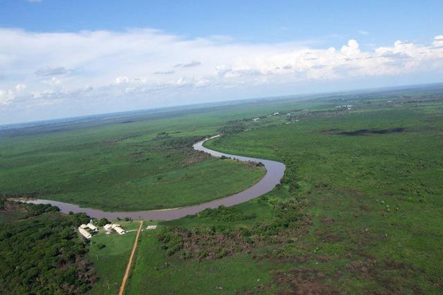 Пантанал - самое большое болото в мире
