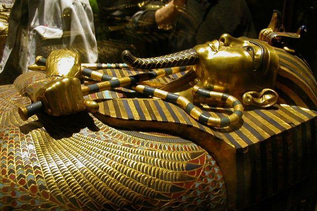 Найденная гробница Тутанхамона
