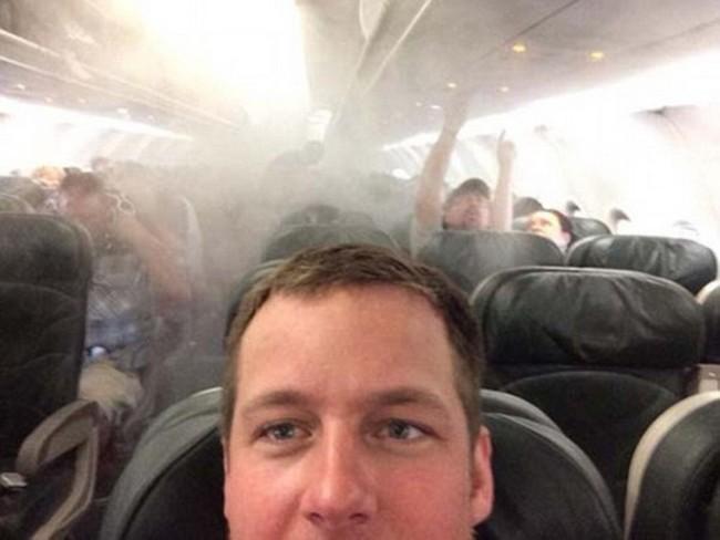 Происшествие в самолете