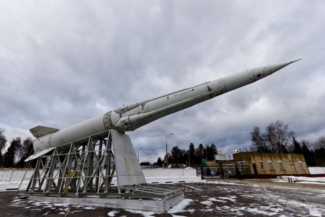 Российская противоракета 53Т6 (системы ПРО А-135)