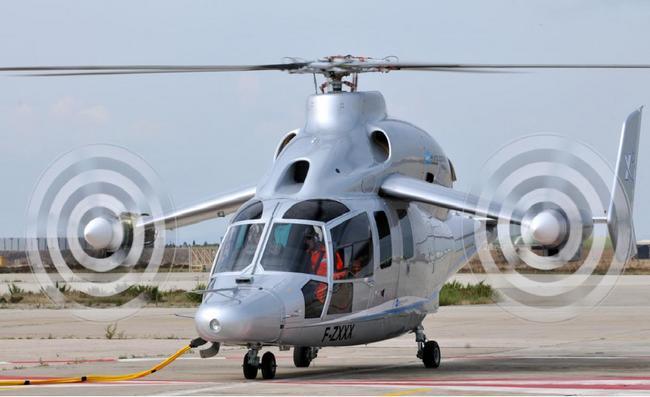 Компания Eurocopter планирует произвести семейство вертолетов X3
