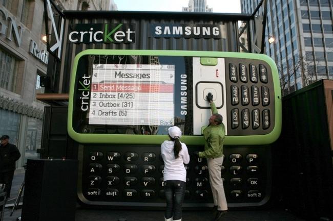 Увеличенная копия Samsung SCH-R450 - Messenger
