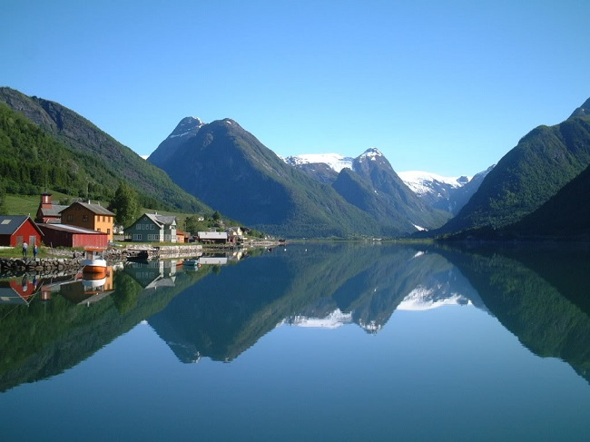 Норвежская тюрьма с условиями