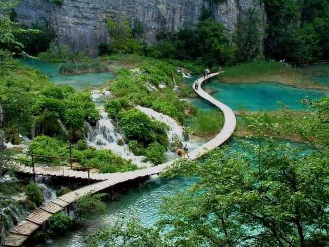 Парк Плитвицкие озера (Хорватия)