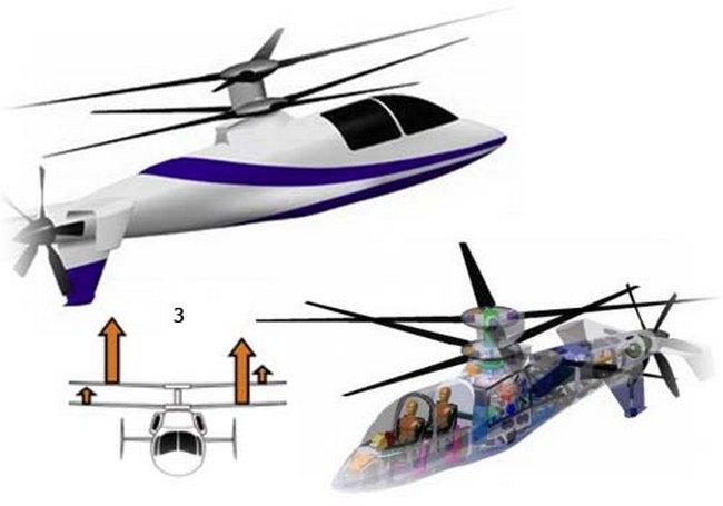 Разработчики стараются над улучшением скоростных параметров Sikorsky X2