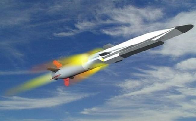 Американская ракета X-51F Waverider в полете