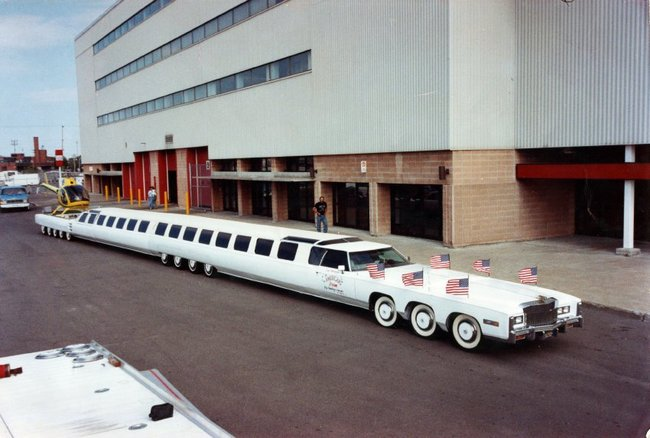 Самый длинный в мире лимузин Джея Орберга
