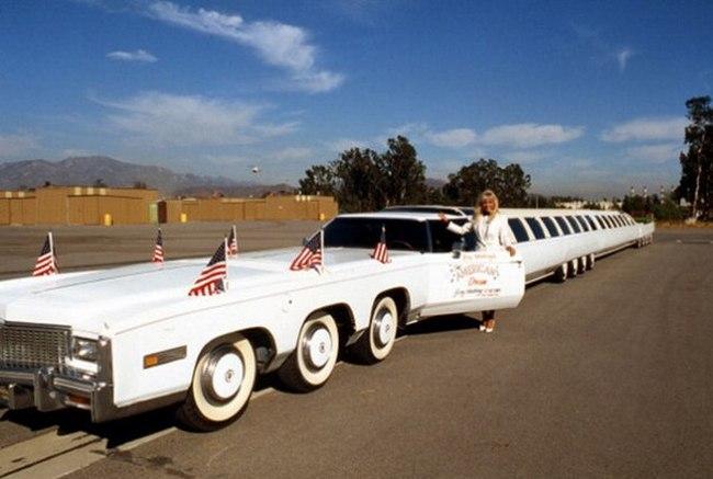 Американская мечта - самый длинный лимузин
