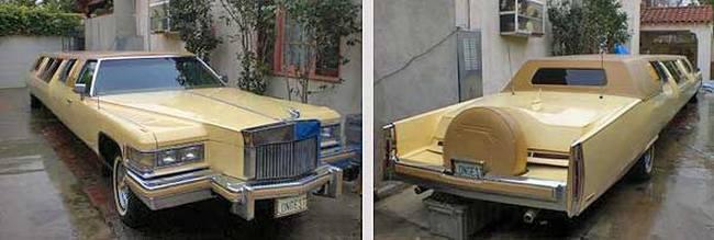 Лимузин на базе Кадиллака 1976 г.в.
