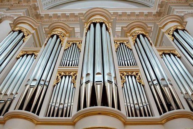 Орган - самый громкий музыкальный инструмент