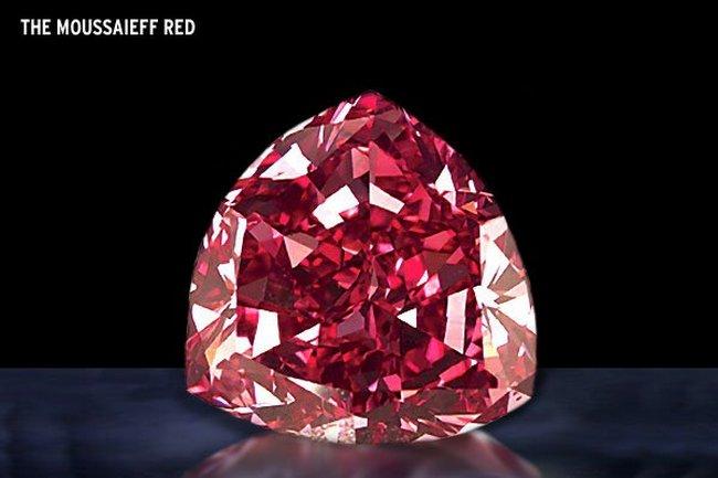 Бриллиант Moussaieff red Diamond