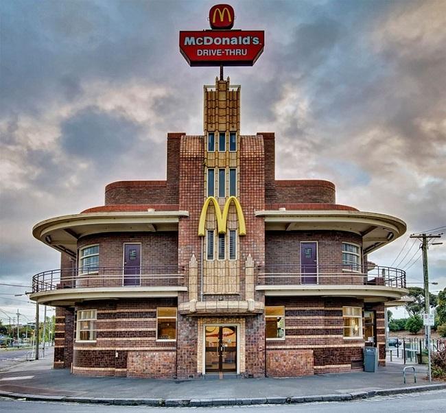 Макдональдс в Мельбурне