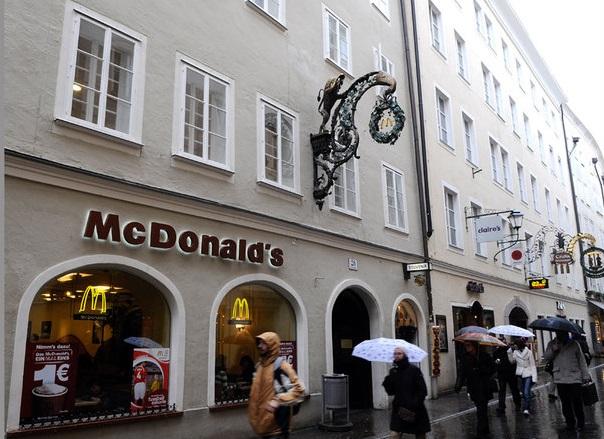 Макдональдс в Австрии
