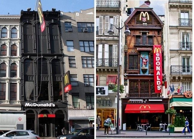 Макдональдс в Париже