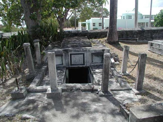 Барбадосский склеп семьи Чейз