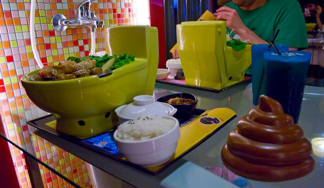 Ресторан Modern Toilet Taipei в Тайвани